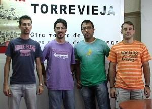 Las Juventudes Socialistas de Torrevieja piden cooperación a las administraciones públicas ante las obras de la desalinizadora.