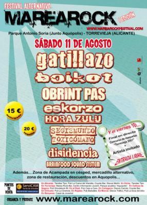 I Festival Marearock en Torrevieja