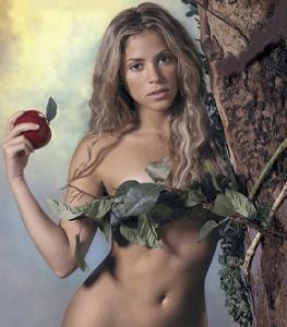 Shakira y los mensajes subliminales.