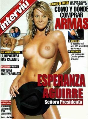 Esperanza Aguirre, te lo mereces.