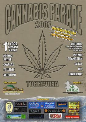 Cannabis Parade 2007, en Torrevieja
