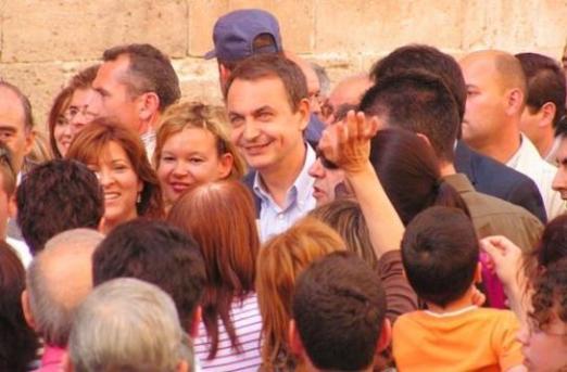 Zapatero visita Orihuela.