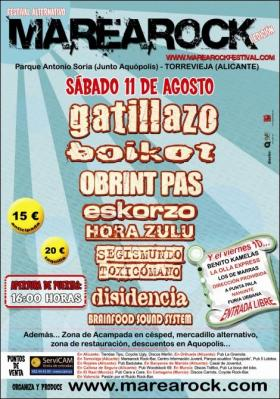 RECTA FINAL PARA EL MAREAROCK FESTIVAL 2007!!!!
