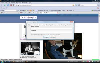 Torreviejadigital víctima del hackeo a la web de Izquierda Unida Federal
