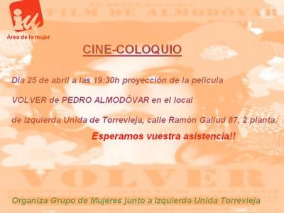 CINE COLOQUIO PARA MUJERES
