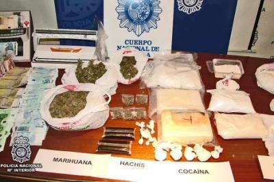 Detenidas 11 personas de un grupo dedicado al narcotráfico